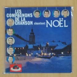 LES COMPAGNONS DE LA CHANSON - CHANTENT NOEL - EP