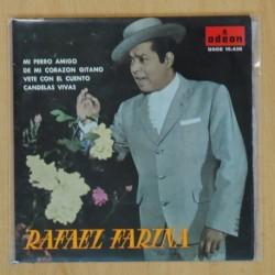 RAFAEL FARINA - MI PERRO AMIGO + 3 - EP