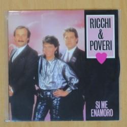RICCHI & POVERI - SI ME ENAMORO - SINGLE