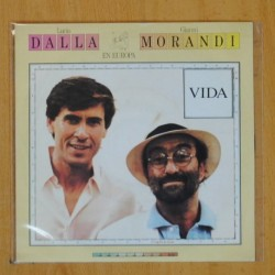 LUCIO DALLA / GIANNI MORANDI - EN EUROPA - SINGLE