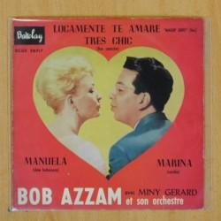 BOB AZZAM / MINY GERARD - MANUELA + 3 - EP