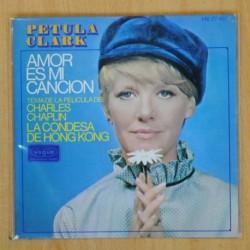 PETULA CLARK - AMOR ES MI CANCION + 3 - EP