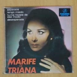 MARIFE DE TRIANA - SEPARAOS + 3 - EP