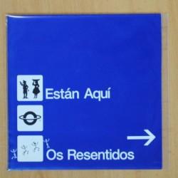 OS RESENTIDOS - ESTAN AQUI - SINGLE