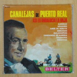 CANALEJAS DEL PUERTO REAL - ASI ES ANDALUCIA LA BAJA - EP