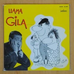 GILA- GILA LLA AL MAESTRO / GILA LLAMA A TERESA - SINGLE