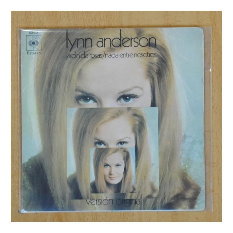 Lynn Anderson Jardin De Rosas Nada Entre Nosotros Single Discos La Metralleta