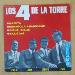LOS 4 DE LA TORRE - MAMITA + 3 - EP