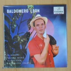 BALDOMERO LEON - EL VAQUERO + 3 - EP