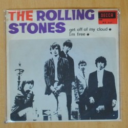THE ROLLING STONES - GET OFF OF MY CLOUD / IM FREE - SINGLE