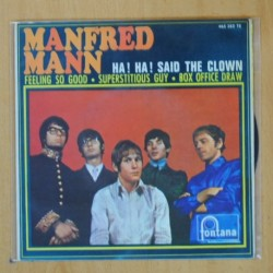 MANFRED MANN - HA! HA! SAID THE CLOWN + 3 - EP
