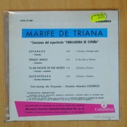 THE MOODY BLUES - MADERA DE DERIVA - SINGLE [DISCO VINILO]