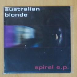 AUSTRALIAN BLONDE - SPIRAL EP - SINGLE