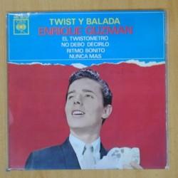 ENRIQUE GUZMAN - TWIST Y BALADA - EP