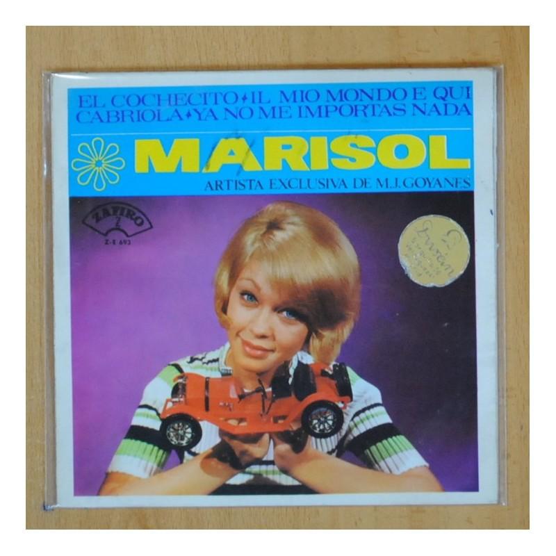 MARISOL EL COCHECITO + 3 EP
