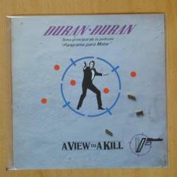 DURAN DURAN - A VIEW TO A KILL - SINGLE