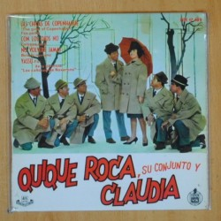 QUIQUE ROCA SU CONJUNTO Y CLAUDIA - LAS CHICAS DE COPENHAGUE + 3 - EP