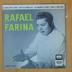 RAFAEL FARINA - EL CANTE ROSA Y ESPINA + 3 - EP