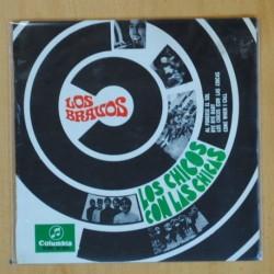 LOS BRAVOS - LOS CHICOS CON LAS CHICAS + 3 - EP