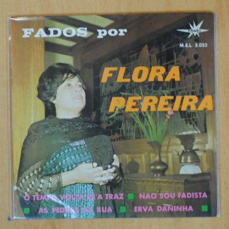 FLORA PEREIRA - O TEMPO VOLTA PR'A TRAZ + 3 - EP