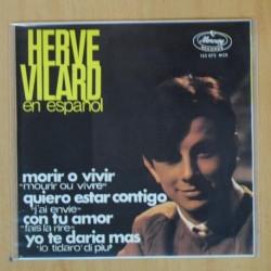 HERVE VILARD - MORIR O VIVIR + 3 - EP