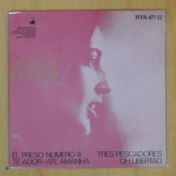 JOAN BAEZ - EL PRESO NUMERO 9 + 3 - EP