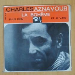 CHARLES AZNAVOUR - LA BOHEME + 2 - EP