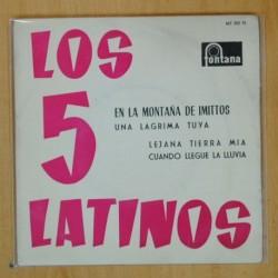 LOS 5 LATINOS - EN LA MONTAÑA DE IMITTOS + 3 - EP