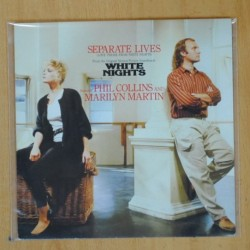 PHIL COLLINS / MARILYN MARTIN - SEPARATE LIVES - SINGLE