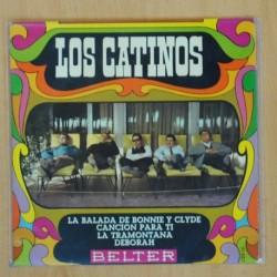 LOS CATINOS - LA BALADA DE BONNIE Y CLYDE + 3 - EP