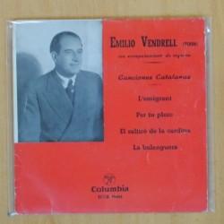 EMILIO VENDRELL - CANCIONES CATALANAS - EP
